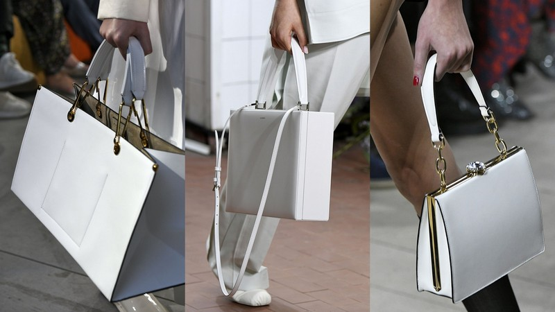 71fa4c417e023 Białe torebki z pokazów SS19: Marni, Jil Sander, Miu Miu (fot. East News)