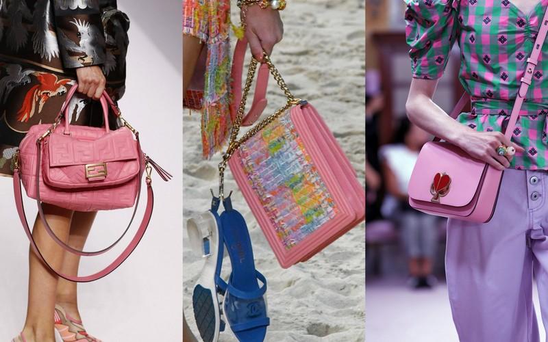 56fb7191f7779 Różowe torebki z kolekcji SS19: Fendi, Chanel, Kate Spade (fot. East News)