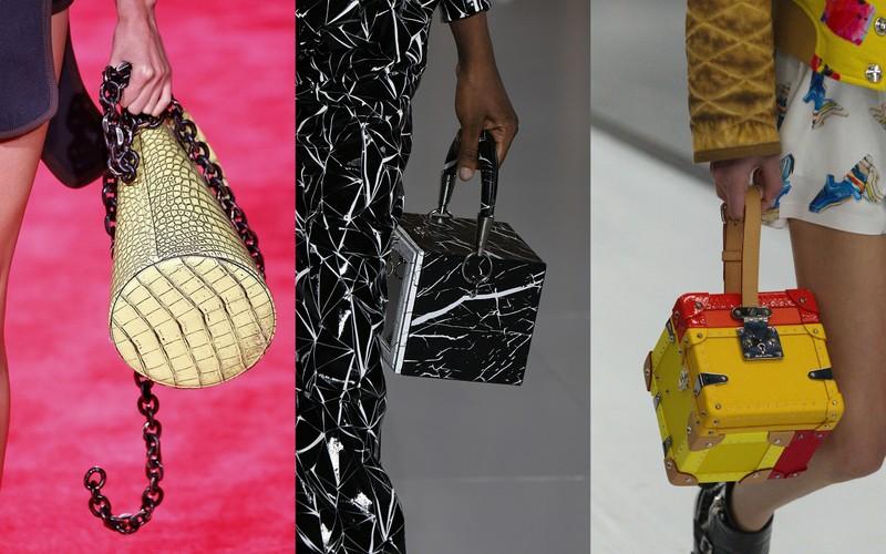d8148ee5e0a52 Torebki w kształcie bryły z kolekcji SS19  Calvin Klein