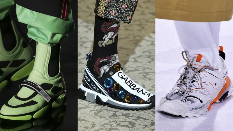 220da90e08f7d Sneakersy na sezon jesień zima 2018/19: Prada, Dolce & Gabbana, Balenciaga  (fot. East News)