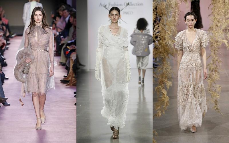 2a05c8681d Takie sukienki przypominają modele z dawnych epok i stanowią współczesną  wariację w temacie arystokratycznej garderoby. Najmodniejsze propozycje  będące ...