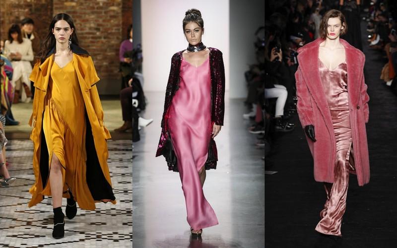 f52083aa5c Najmodniejsze bieliźniane sukienki to te w odcieniach jesieni  musztardowej  żółci