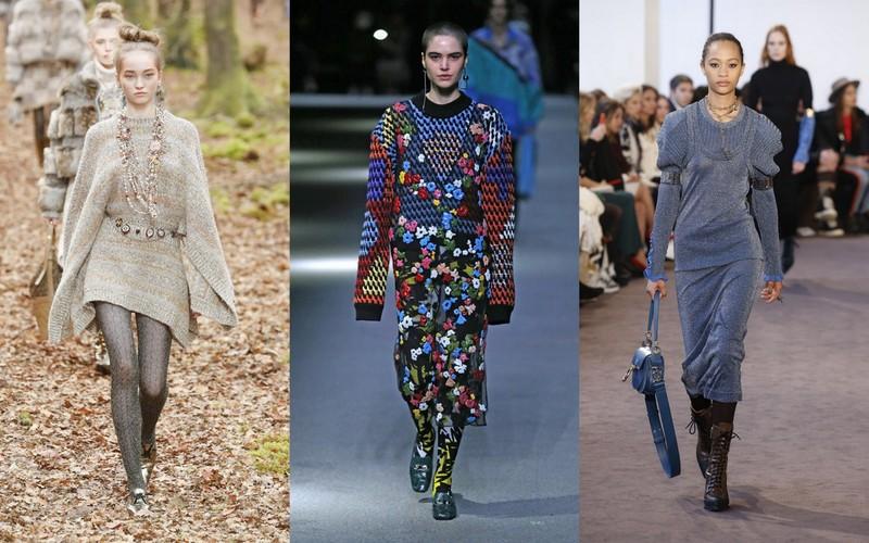4c0d5ae36e Lekko błyszczące i monochromatyczne modele proponuje Karl Lagerfeld dla  domu mody Chanel