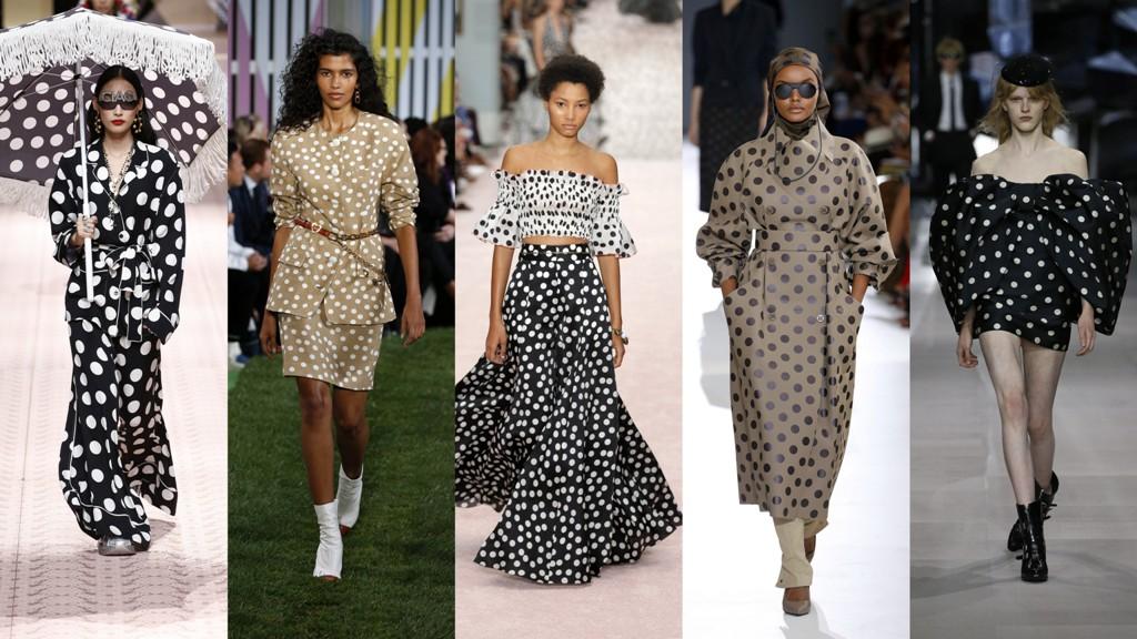 2c4268e1e3266 Ubrania w kropki: Dolce&Gabbana, Escada, Carolina Herrera, Max Mara, Celine  (fot. East News)