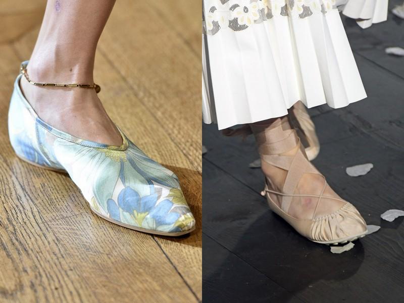 e2f46561 Buty w stylu baleriny: 1. Stella McCartney 2. Dior (fot. East News)