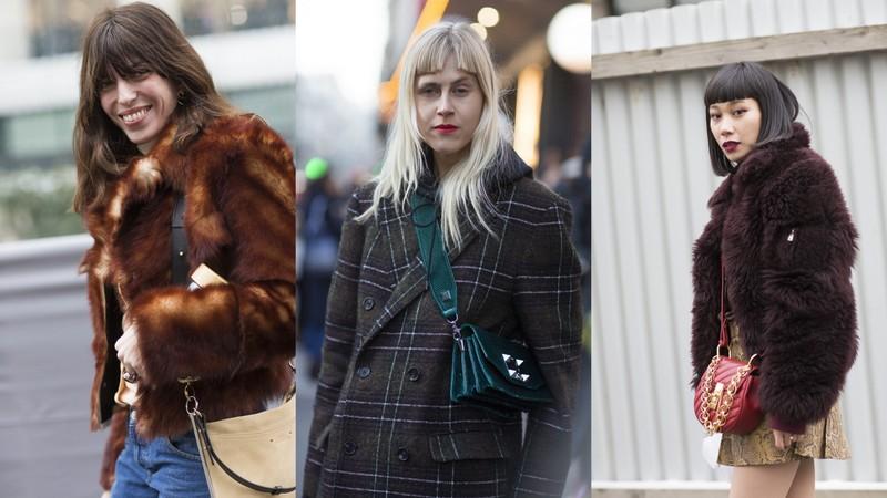 Fryzury Street Fashion Trendy Jesień Zima 201819 Lamode
