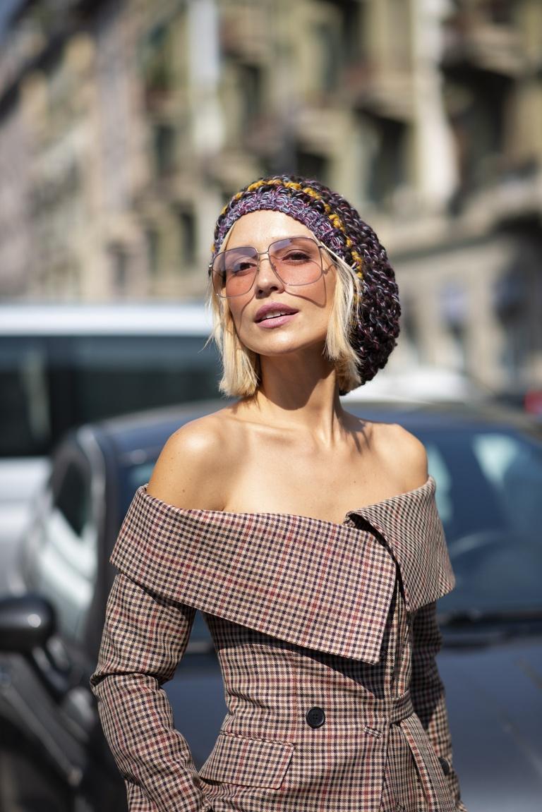 Krótkie Fryzury Damskie Trendy Moda Uliczna Wiosna Lato