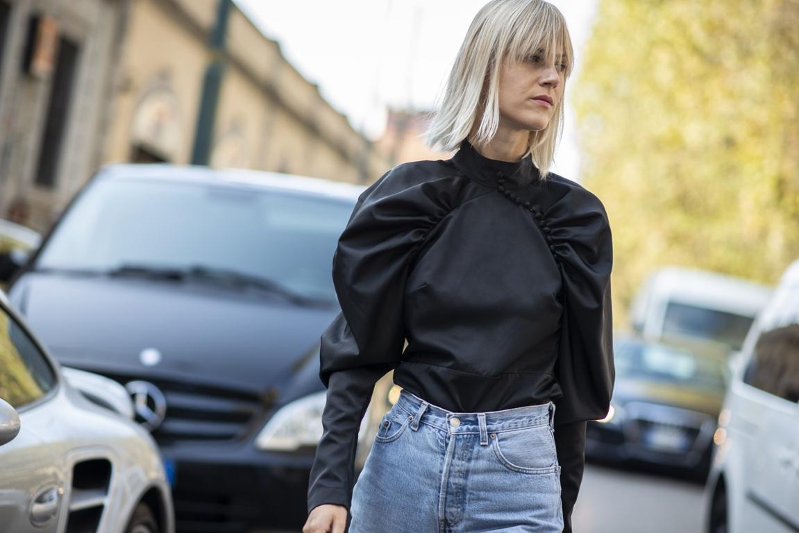 Półdługie Fryzury Damskie Trendy Moda Uliczna Wiosna Lato 2019