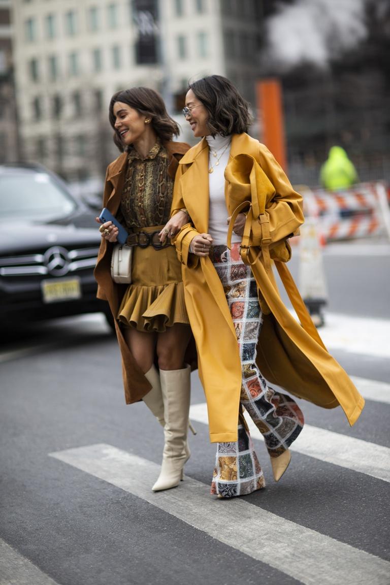 top 100 stylizacji z new york fashion week jesie zima. Black Bedroom Furniture Sets. Home Design Ideas