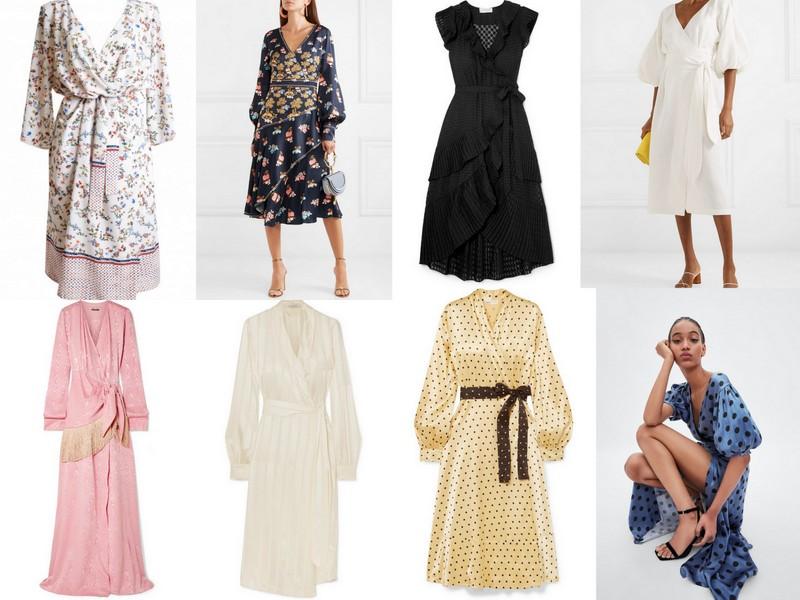 af94f308da12e Kopertowa sukienka - krój w historii mody | lamode