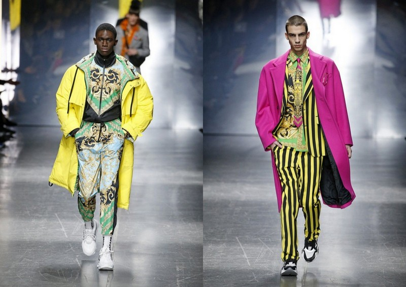 49ff0a826299a Versace - trendy w kolekcji męskiej, jesień zima 2019/20 (fot. East News)