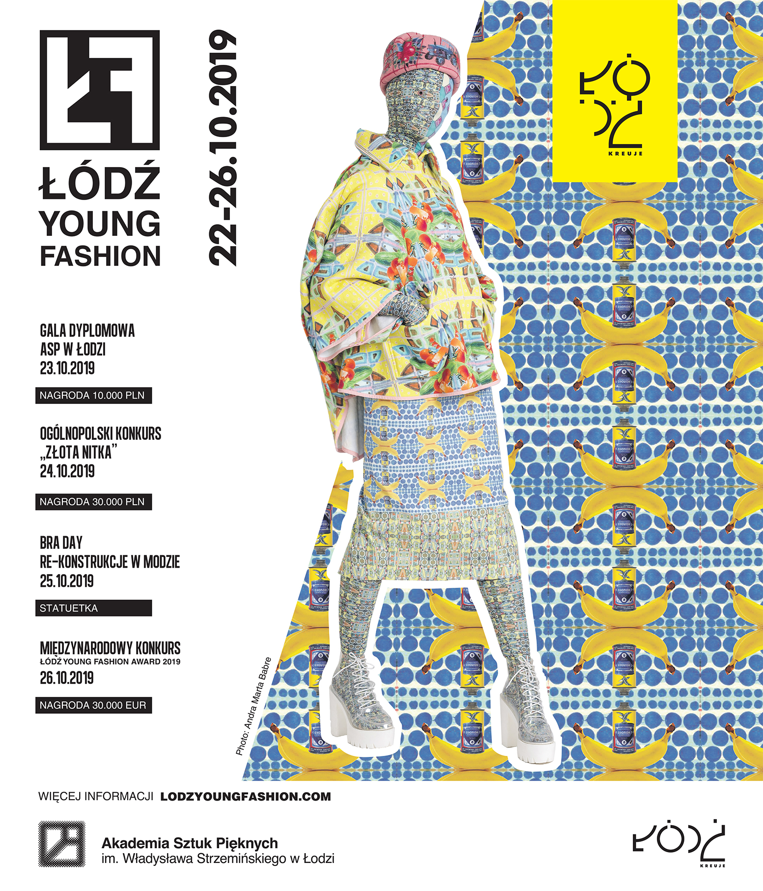 ŁÓDŹ YOUNG FASHION 2019 Z AGATĄ TANTER