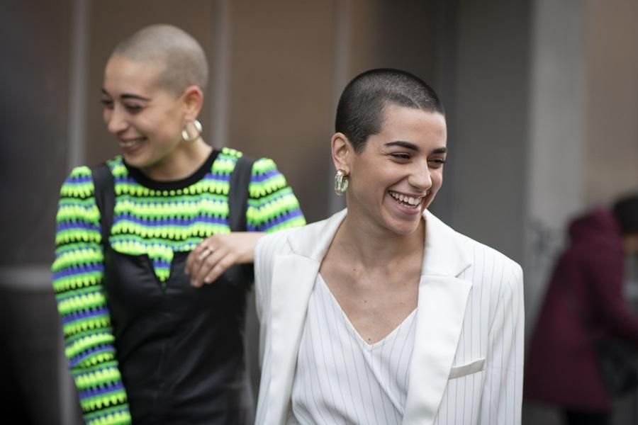 Krótkie Fryzury Damskie Trendy Moda Uliczna 2019 Lamode