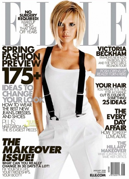 Bitwa Na Włosy Fryzury Gwiazd Victoria Beckham Lamode