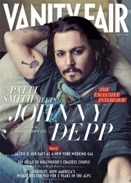1. Johnny Depp, Vanity Fair