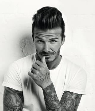 Bitwa Na Włosy Fryzury Gwiazd David Beckham Lamode