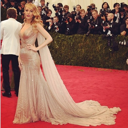 Blake Lively na Met Ball