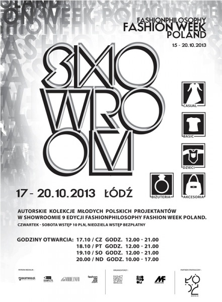 Strefa Showroom 9 edycja Fashion Philosophy Fashion Week Poland 2013