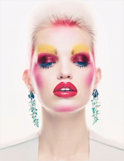 Daphne Groeneveld w Vogue UK
