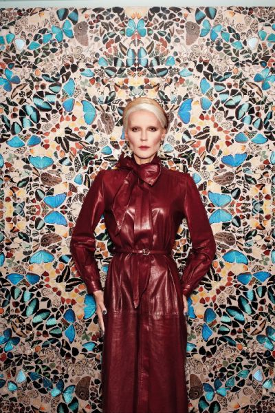 Daphne Guinness w Vogue Germany