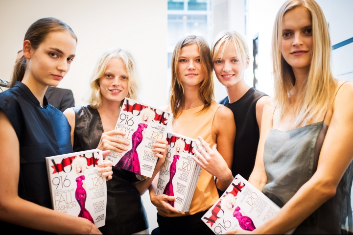 Zuza Bijoch i Kasia Struss podczas Fashion's Night Out