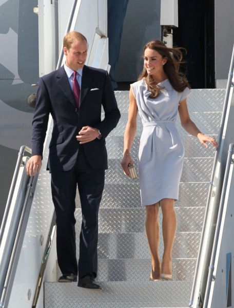 Kate Middleton w sukience projektu Roksandy Illincic