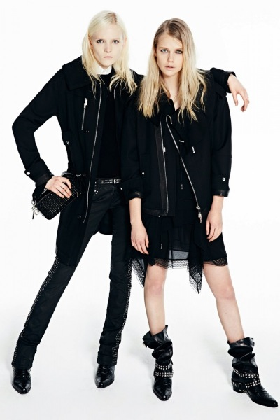 1 Maja Salamon i Stina Rapp w lookbook'u Diesel Black Gold Pre-Fall 2014