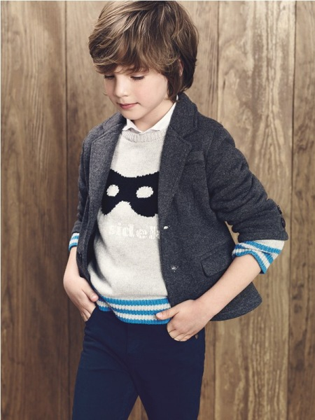 1. MANGO KIDS - LOOKBOOK JESIEŃ ZIMA 2014/2015