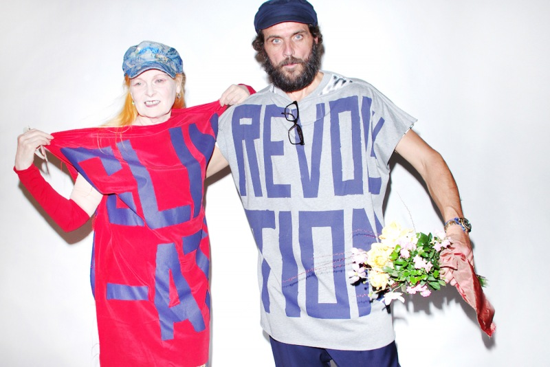 Vivienne Westwood i Andreas dla Climate Revolution fot. Paolo Colaiocco