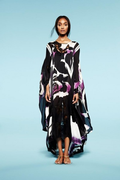 Jourdan Dunn w lookbook kolekcji Emilio Pucci resort 2013