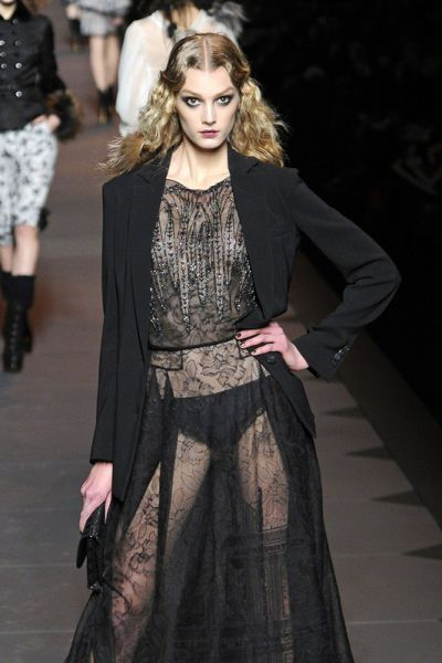 Sigrid Agren Christian Dior AW 2011/12
