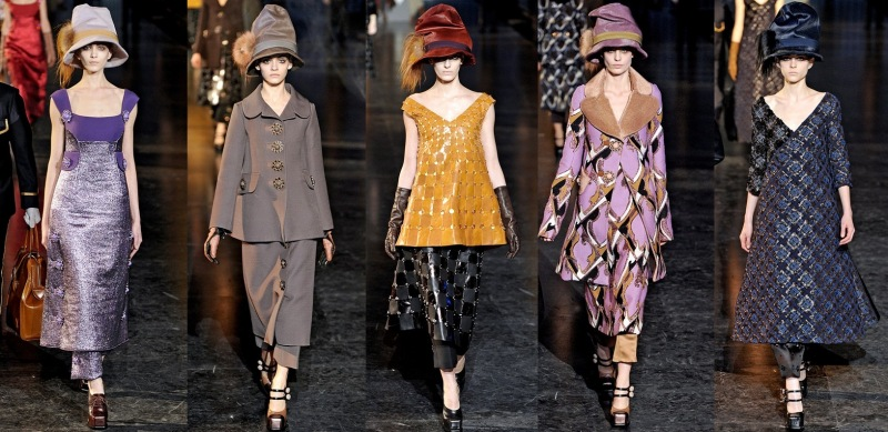 Louis Vuitton jesień zima 2012