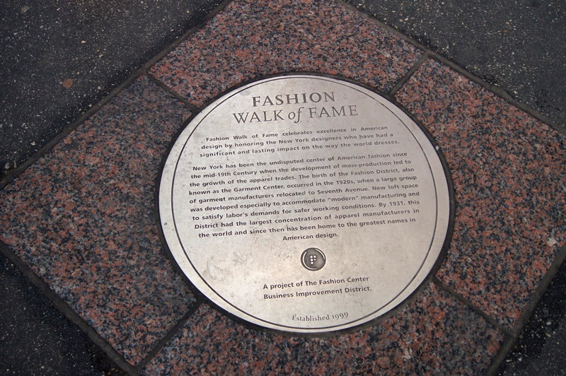 FASHION WALK OF FAME