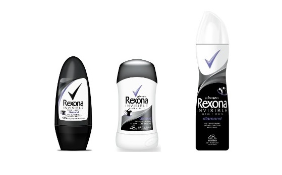 REXONA BLACK+WHITE