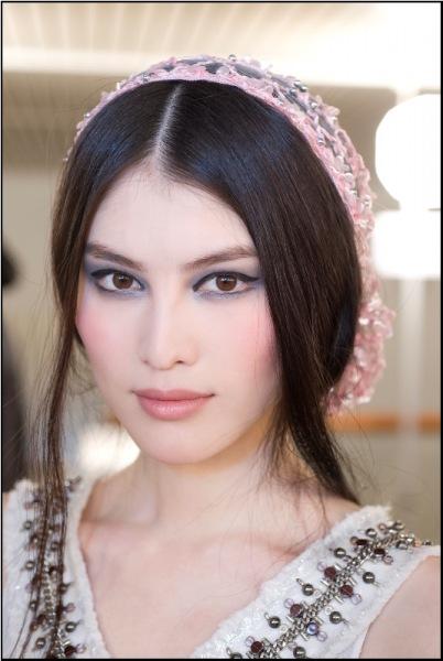 makijaż z pokazu Chanel haute couture 2012/2013